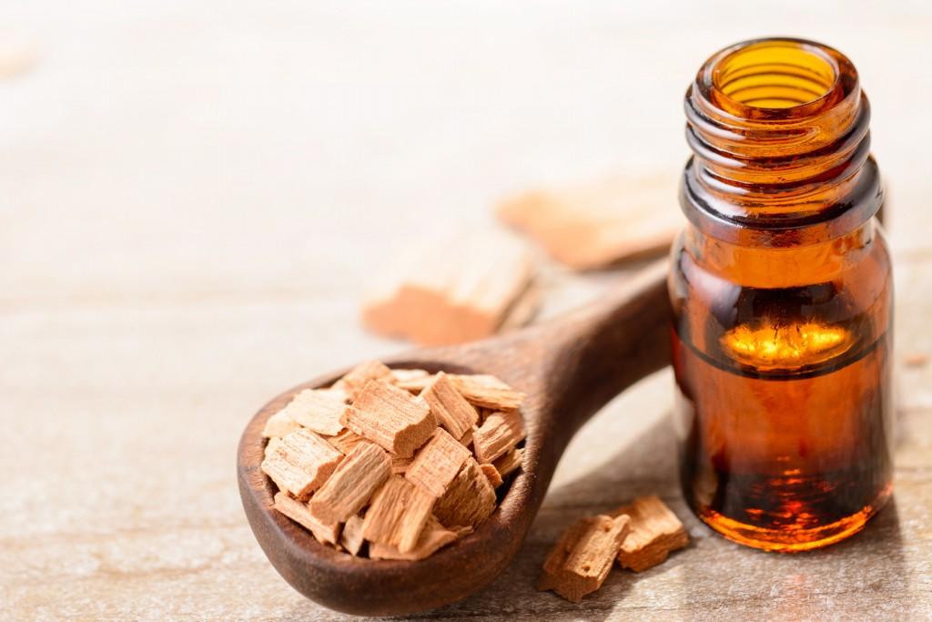Benefit of sandalwood oil