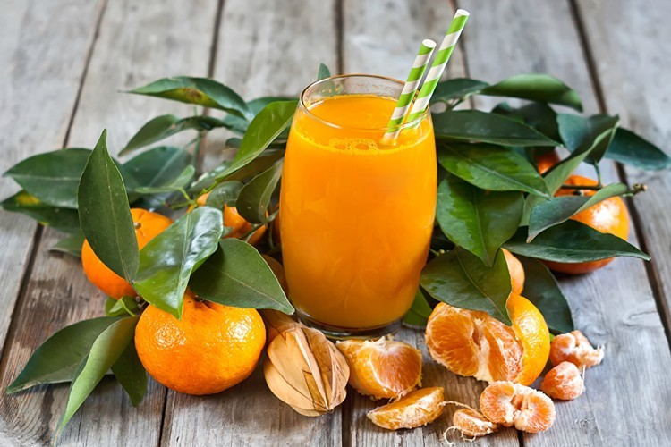 benefit of tangerine juice
