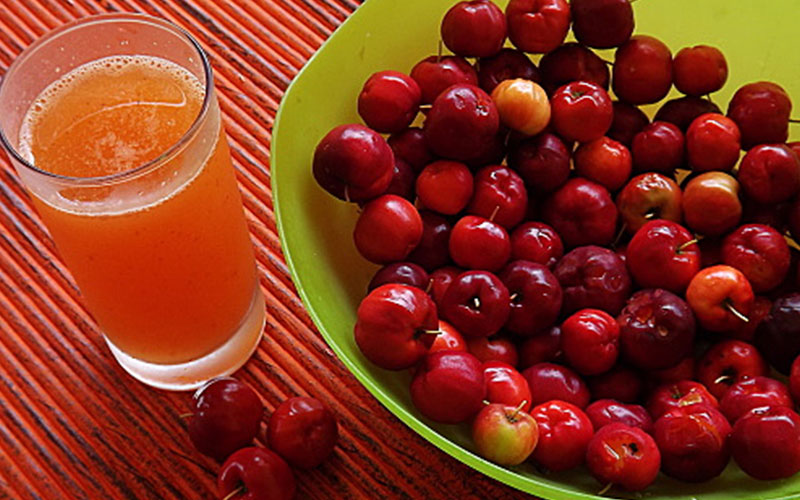 benefits of acerola juice