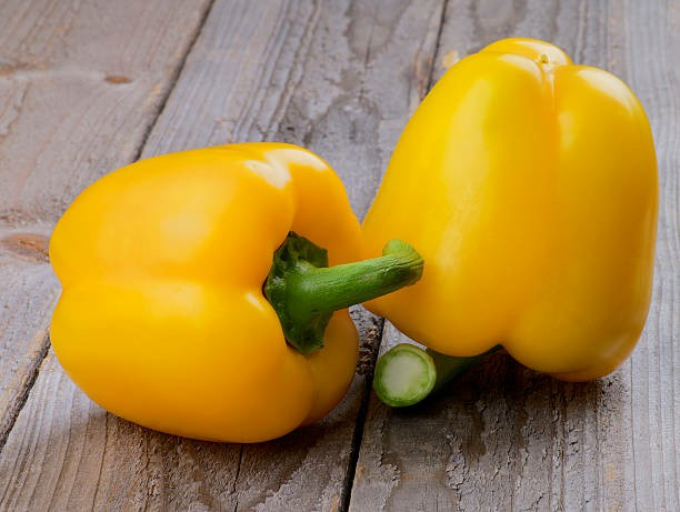 benefits yellow pepper