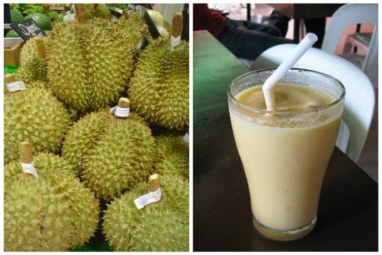juice durian